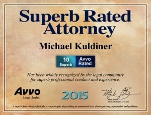 Superb Rated by AVVO 2015